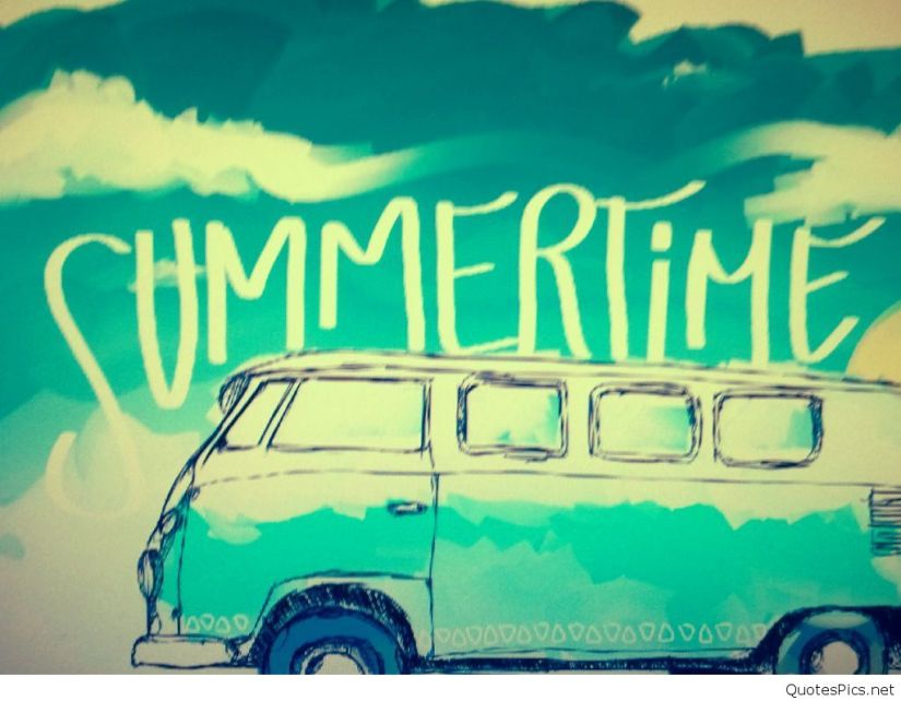 Summertime VW Bus
